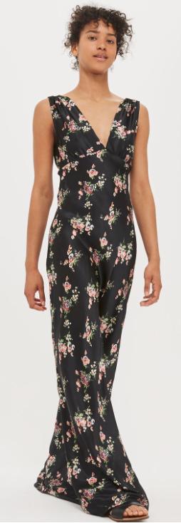 Topshop - floral print dress