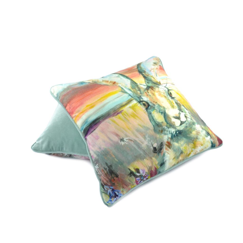 Hare cushion 4