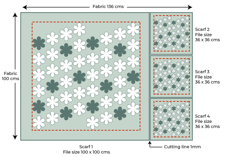 Scarf layouts
